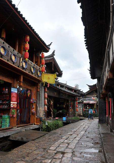 The street of the town, Shuhe of Lijiang