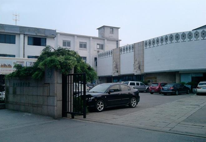 The entrance of Suzhou Silk Museum