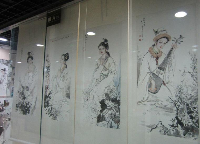 Paintings Sold at Liulichang Cultural Street,Beijing