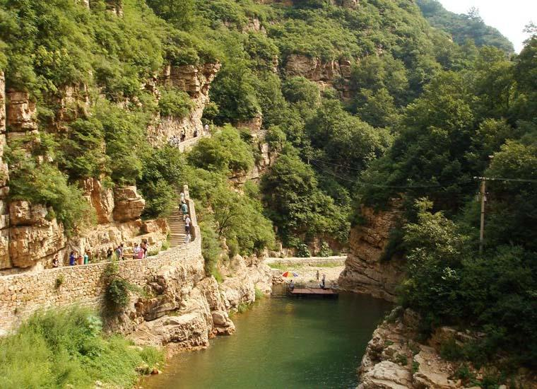 Jingdong Grand Canyon Scenic Area in Beijing Covers an Area of 20 Square Kilometers