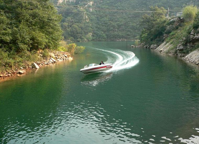 Visit Beijing Jingdong Grand Canyon Scenic Area by Yacht