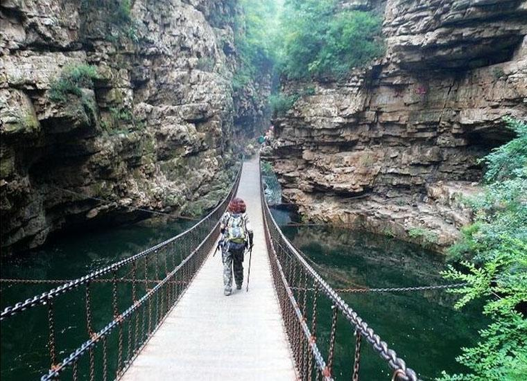 Jingdong Grand Canyon Scenic Area in Beijing is Also an Ideal Place for Outdoor Enthusiasts