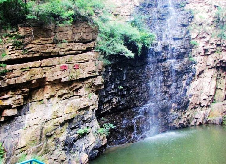 Sounding Pool in Jingdong Grand Canyon Scenic Area, Beijing