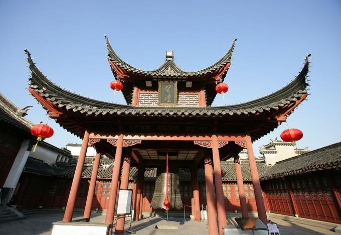 The Bell Pavilion in Fuzimiao