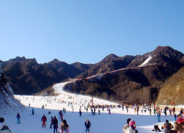 Beijing Huaibei International Ski Resort is Located Some 70km Away From Beijing Downtown