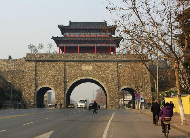 The city gate of the ancient city wall, Nanjing