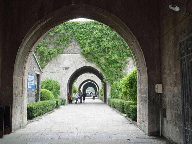 The passageway of the Wengcheng