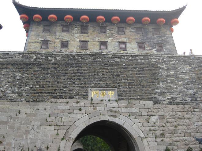 Zhonghua City Gate is the south gate of Ancient Nanjing City Wall.