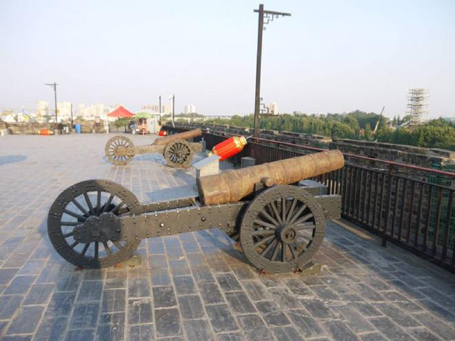 The cannon of Ming Dynasty