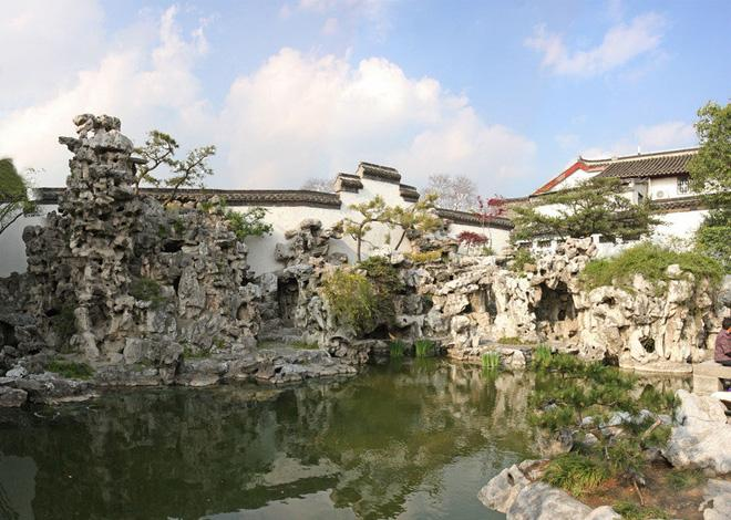 The rockery of He Garden in Yangzhou