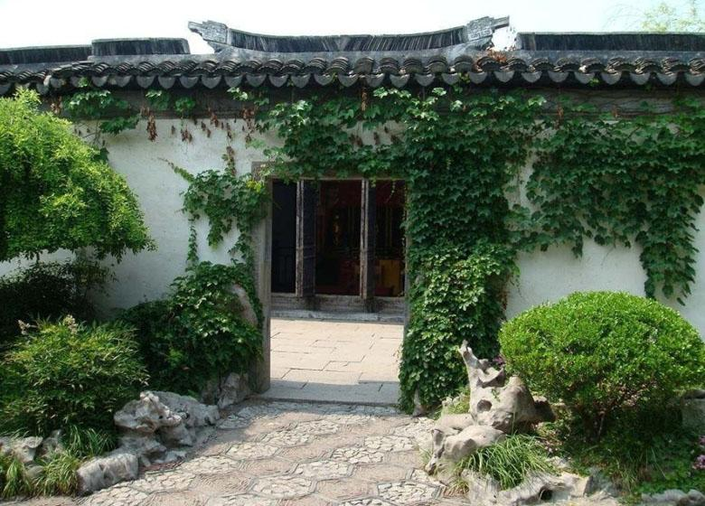 Backyard of Zhang Residence in Zhouhuang