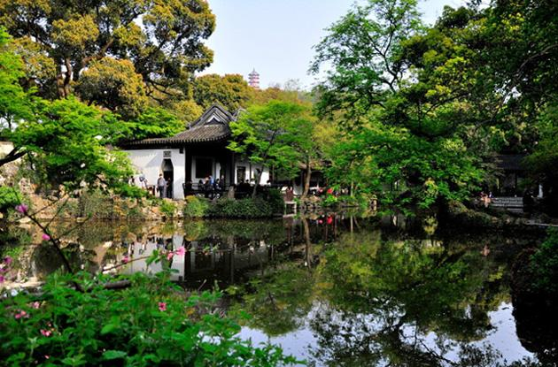 The elegant scenery of Jichang Garden