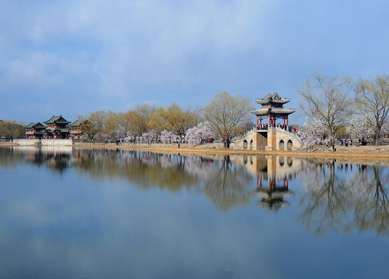 West Dyke along the Waterway of Empress Dowager Cixi in Beijing