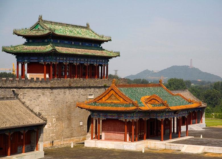 One Part of the Tuancheng along Waterway of Empress Dowager Cixi in Beijing
