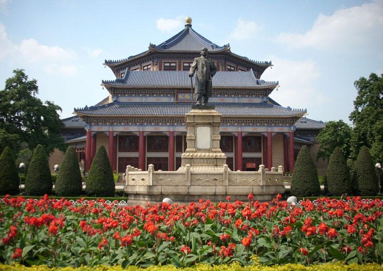Sun Yat-sen Memorial Hall Was Built to Remember the Forerunner of Modern Democratic Revolution Sun Yat-sen