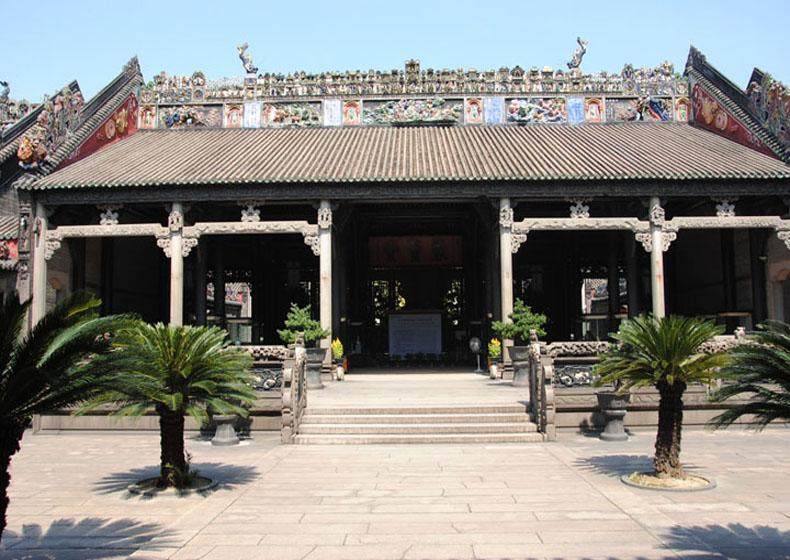Juxian Hall of the Chen's Ancestral Temple in Guangzhou