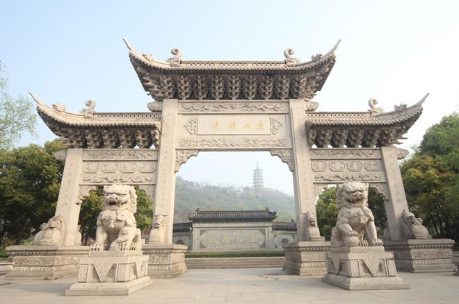 The gateway of Jiaoshan, Zhenjiang