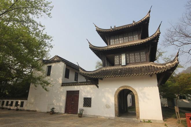 The arichitecture in Jiaoshan