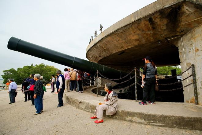It was the biggest coastal gun in China.