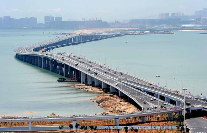The Jimei Bridge