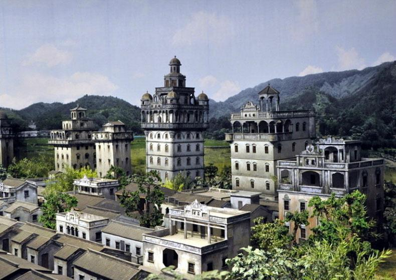 Kaiping Watchtowers Harmoniously Integrated Chinese and Western Architectural Art