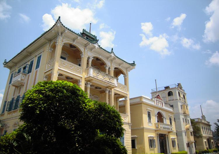 Villas in Liyuan Garden of China's Guangdong Province