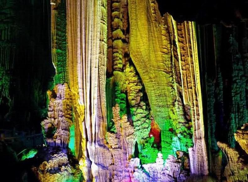 Yaochi Fairyland in Silver Cave Scenic Area of Guangxi Province, China