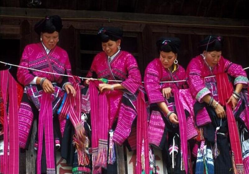 Red Clothes Festival of Yao people in Yao and Zhuang Ethnic Tribes of Longsheng County, Guilin