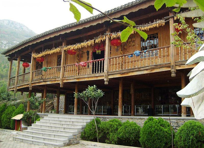 House of Zhuang people in Yao and Zhuang Ethnic Tribes of Longsheng County, Guilin