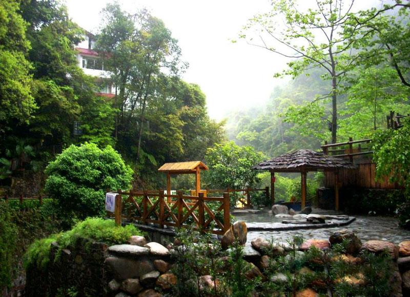 Longsheng Hot Springs National Forest Park is known as a Natural Oxygen Bar