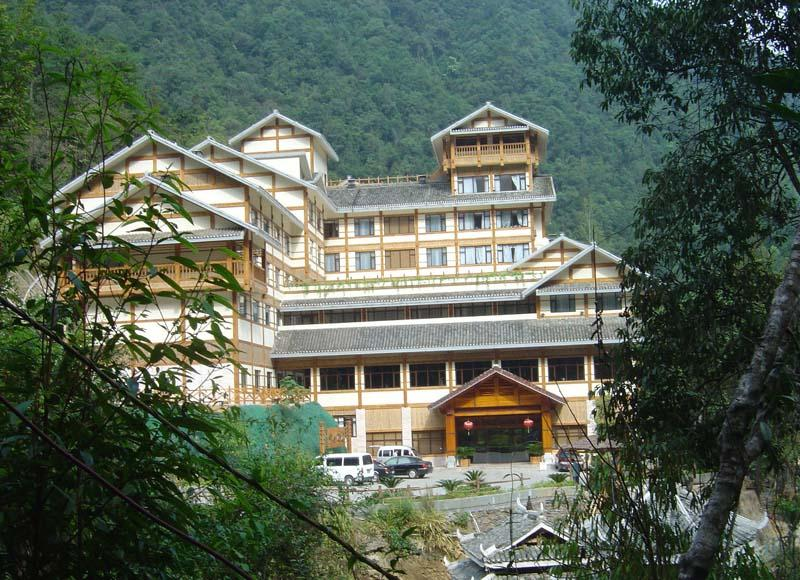 Hotel in Longsheng Hot Spring Holiday Resort, Guilin