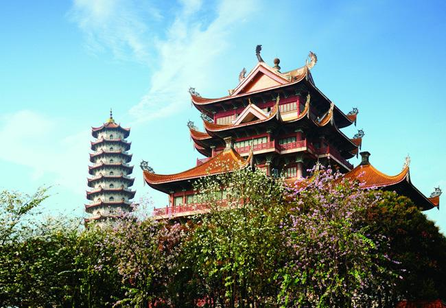 Xichan Temple is an aged-old national key temple with an international fame.