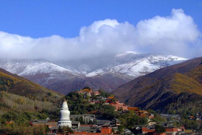 Wutai Mountain is home to many a Buddhism temples.
