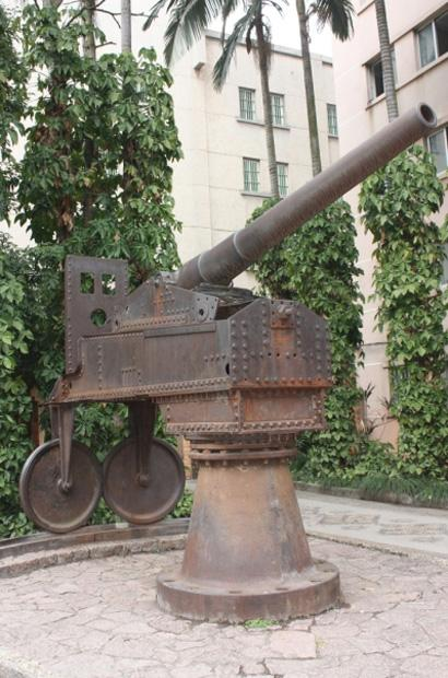 Cannon in Guangxi Ethnic Relics Center, Nanning