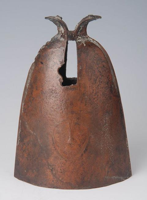 Bronze bell made in the ancient China's Western Han Dynasty preserved in Guangxi Provincial Museum