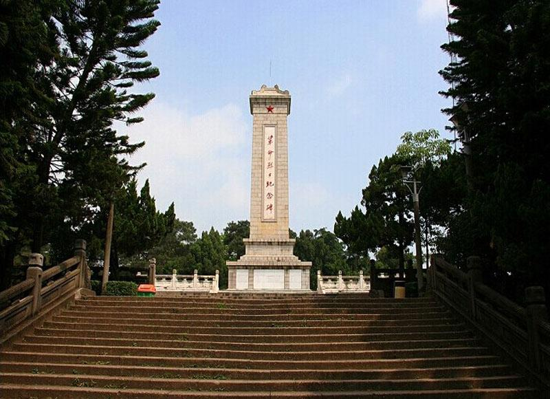 Revolutionary Martyrs Monument in Renmin Park of Nanning, Guangxi