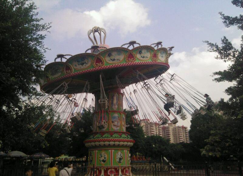 Renmin Park in Nanning is an interesting place for children as well
