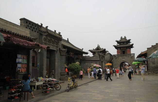 A street scene in Pingyao Old Town