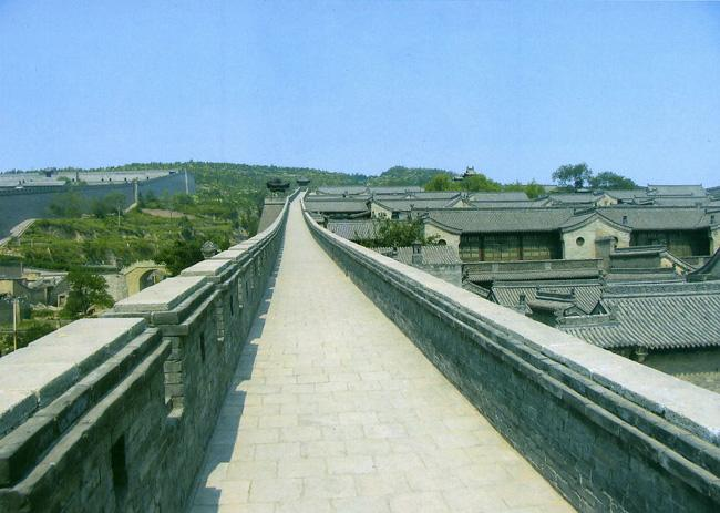 Ancient City Wall of Pingyao is one of the four most preserved ancient city walls in China.