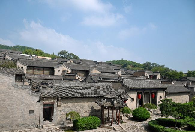 An overview of Wang Courtyard Residence