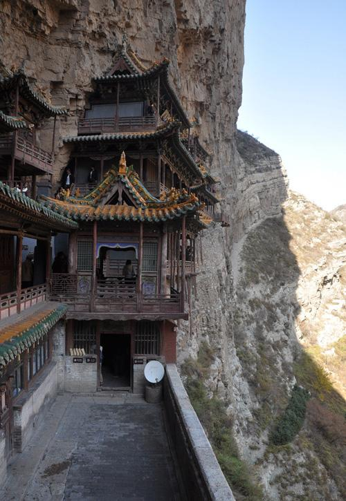 The entrance of the monastery.