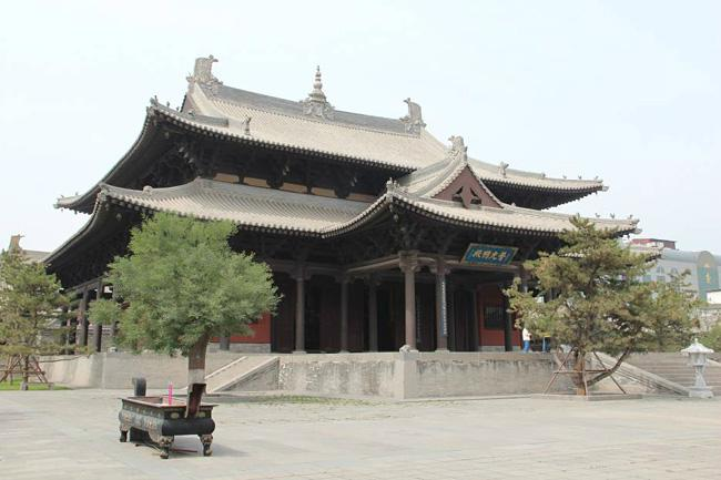 The Puguangming Hall.
