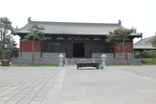 The Amitabha Hall.