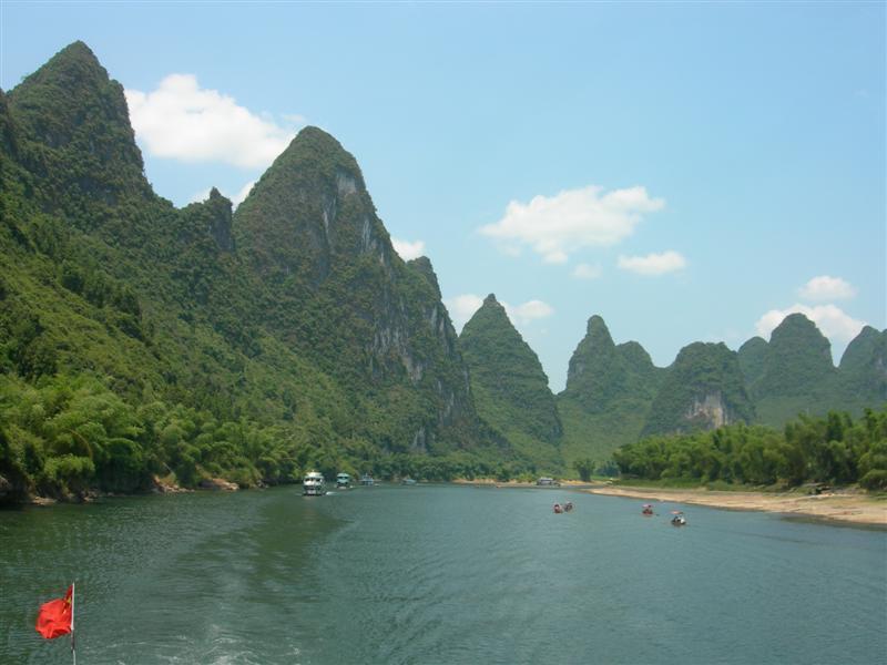 Li River Guilin Guilin Li River Cruise Retreat Tours
