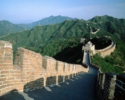 Badaling Great Wall in the Sunshine-1