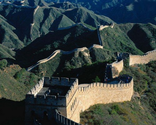 Badaling Great Wall in the Sunshine-2