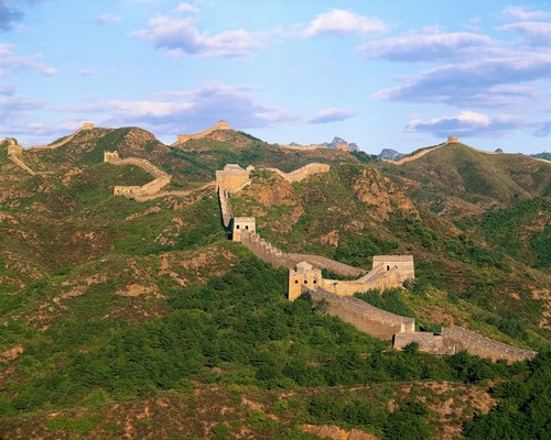Badaling Great Wall in Early Winter