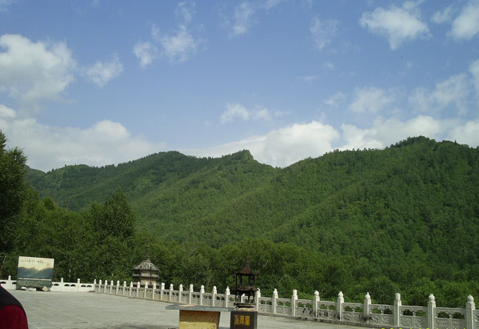 Mt. Wutai is located at the northeast part of Shanxi.
