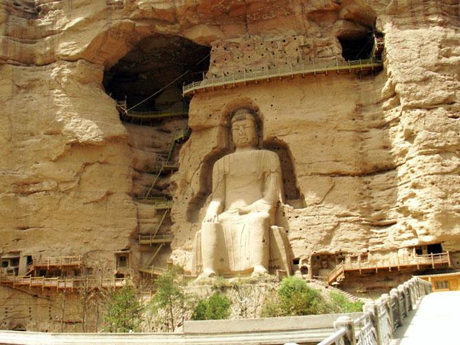Bingling Temple Caves Lanzhou Bingling Temple