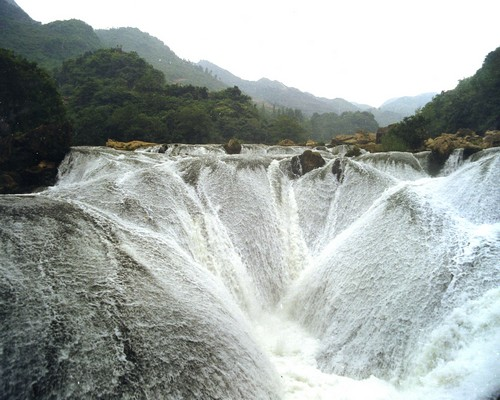 Huangguoshu Waterfall Anshun Anshun Attraction